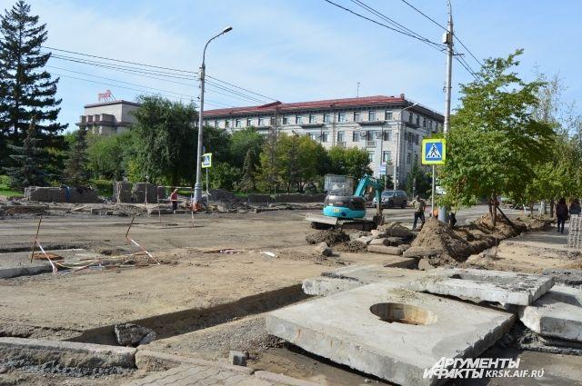 Мэрия Красноярска планирует отсудить уподрядчика деньги заремонт дорог