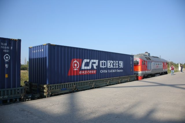 В Калининград прибывает первый состав проекта «Новый шелковый путь».