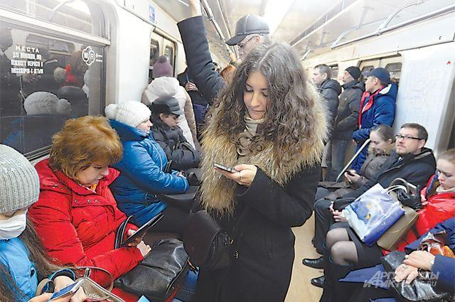 На 2-ой линии метро Петербурга устанавливают Wi-Fi