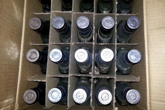 Около 11000 бутылок контрафактного алкоголя изъято ужителя Дона