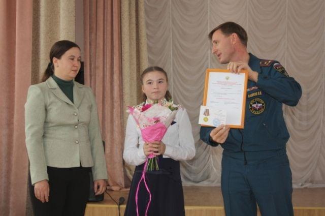 Церемония награждения.