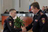 Виктора Пядышева наградили медалью.