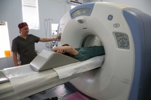 В онкодиспансере открылось новое радиотерапевтическое отделение.