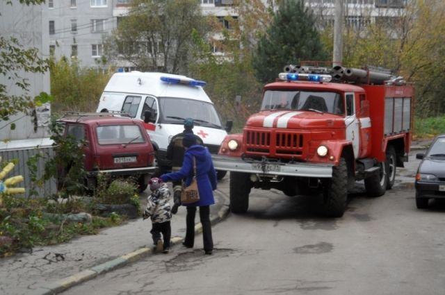 Тульские пожарные спасли 2 человек