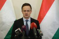 Глава МИД Венгрии Петер Сийярто.