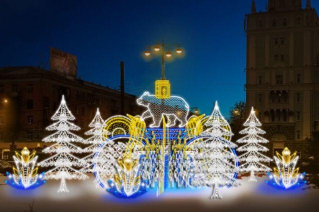 На остальных улицах краевой столицы появится прошлогоднее декоративное освещение.