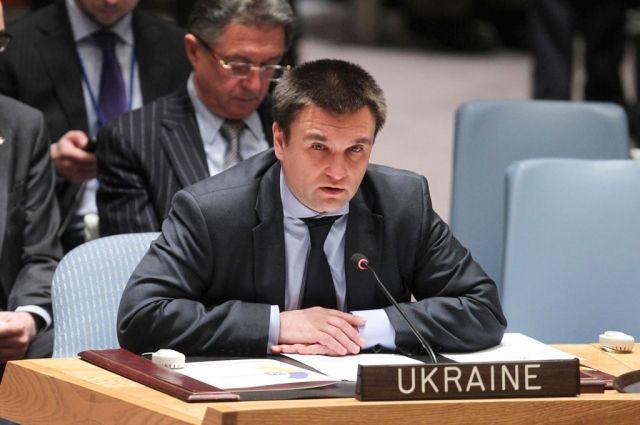 Климкин: Украинская резолюция о миротворцах на Донбассе готова
