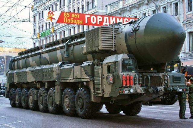 Ракета поразила условную цель на полигоне «Сары-Шаган» (Республика Казахстан).
