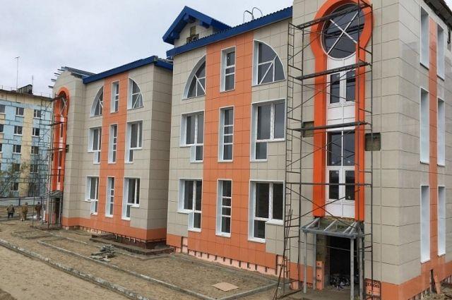 Детский сад «Газовичок» в Надыме готов наполовину