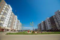 Самый заметный и необычный из новых микрорайонов столицы Иркутской области - «Эволюция» в Ленинском округе.