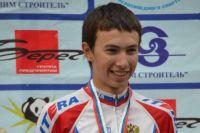 Кемеровчанин вошел в тройку лучших на первенстве России по велоспорту .
