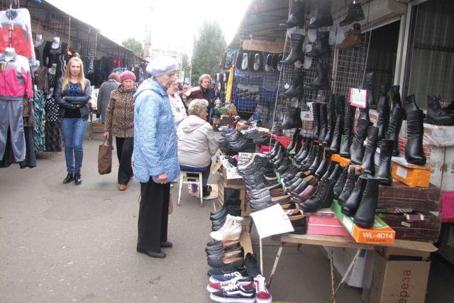Большинство клиентов рынка — пенсионеры и другие не очень обеспеченные люди.
