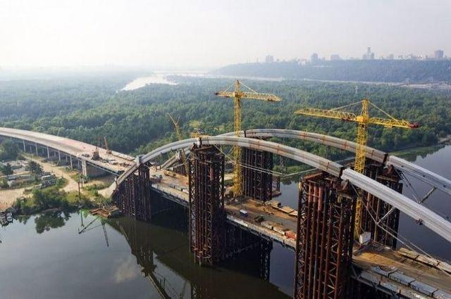 Недостроенный мост наТроещину всостоянии сделать платным