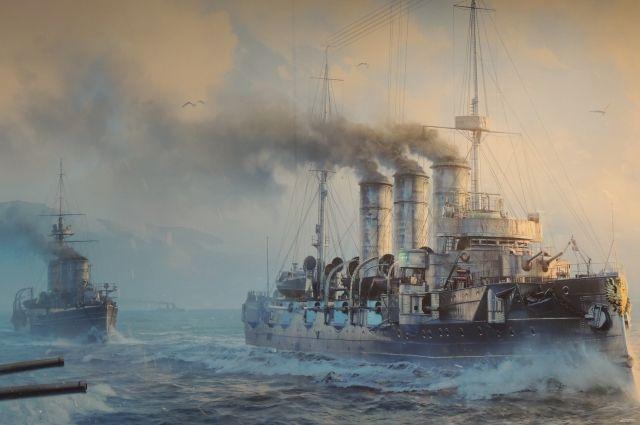 В онлайн-симуляторе World of Warships воссозданы самые известные корабли.