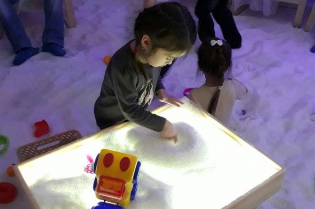 В Губкинском открыли соляную комнату