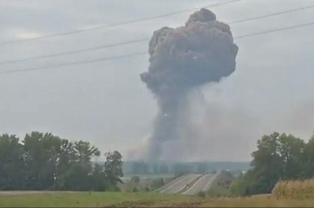 По данным местных властей, сама Винница в зону поражения боеприпасов не подпадает.