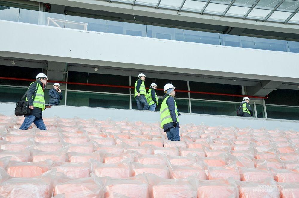 На строительство «Екатеринбург Арены» выдлено 12 млрд рублей из федерального бюджета.