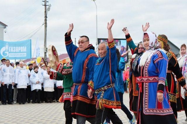 Коренные ямальцы представляют округ в Сыктывкаре