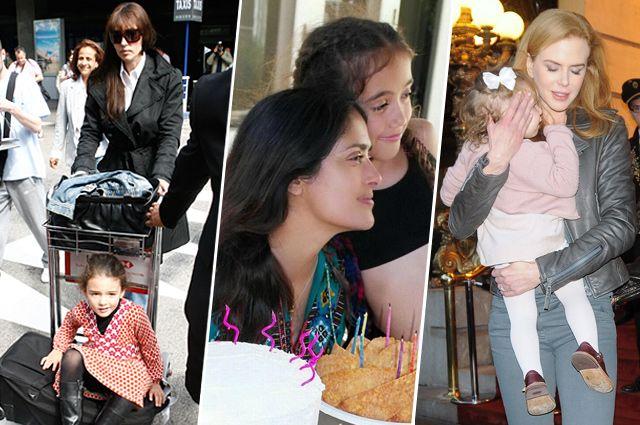 Моника Беллуччи первую дочь родила в 39 лет, Сальма Хайек - в 41, Николь Кидман стала мамой в 40 лет.