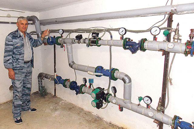 Современные элеваторные узлы отопления готовы к работе в зимний период.