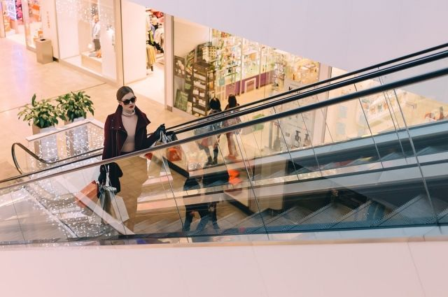 Торговый центр будет четырёхэтажным.