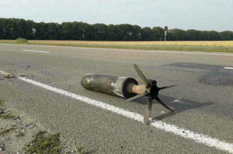 Подрыв военных складов в Калиновке Винницкой области мог быть осуществлен с беспилотника