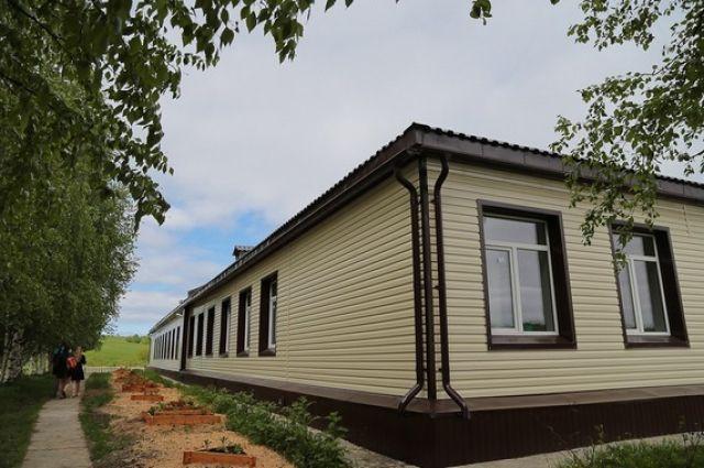 В сёлах Коми будут строить вот такие быстровозводимые школы.