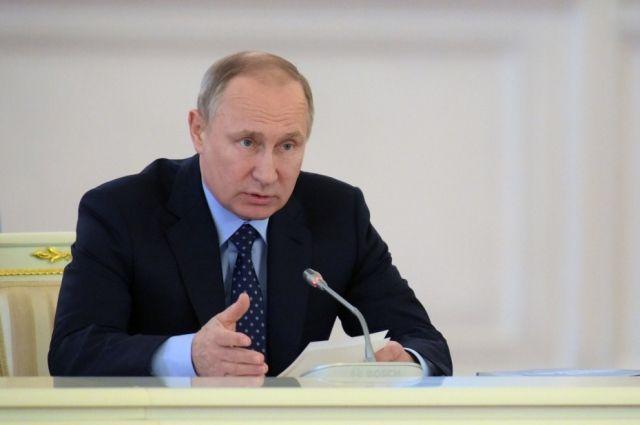 В Российской Федерации  на100%  уничтожены запасы хим.  оружия— Путин