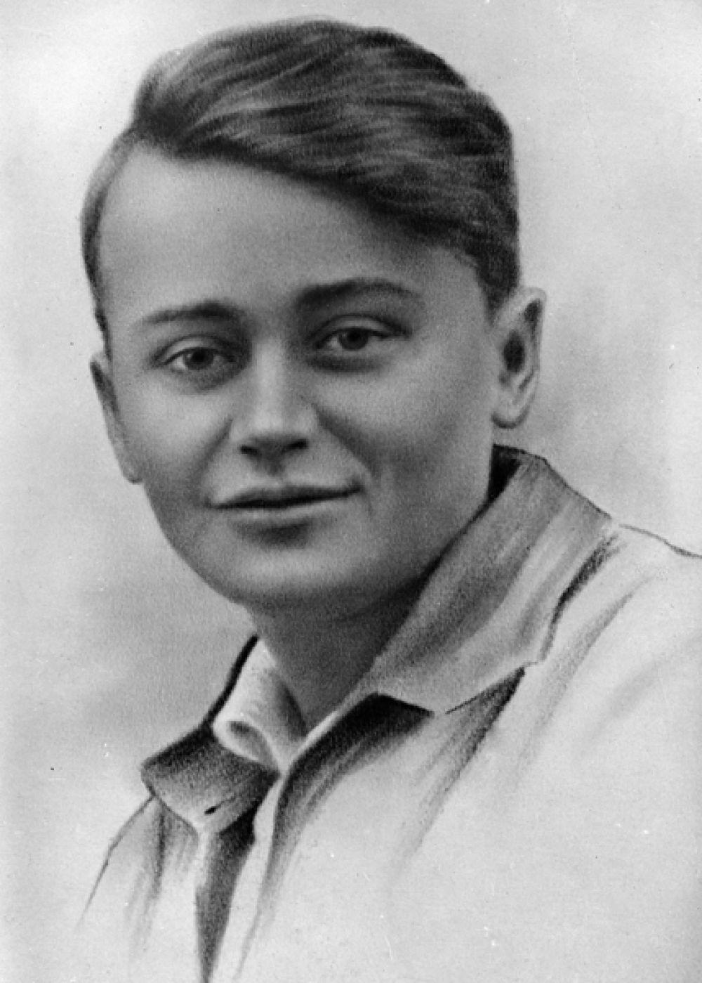 Комиссар «Молодой гвардии» Олег Кошевой.