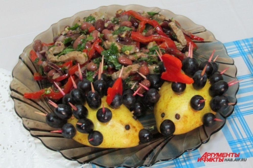 Салат «Тбилиси» - 2 место