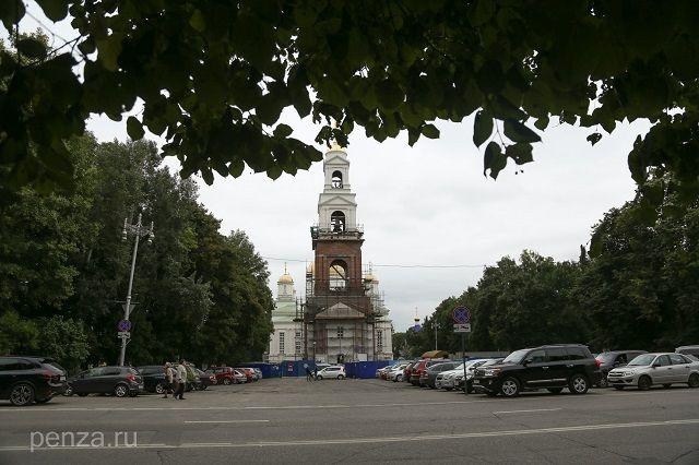 Теперь главный собор Пензы располагается на Соборной площади.