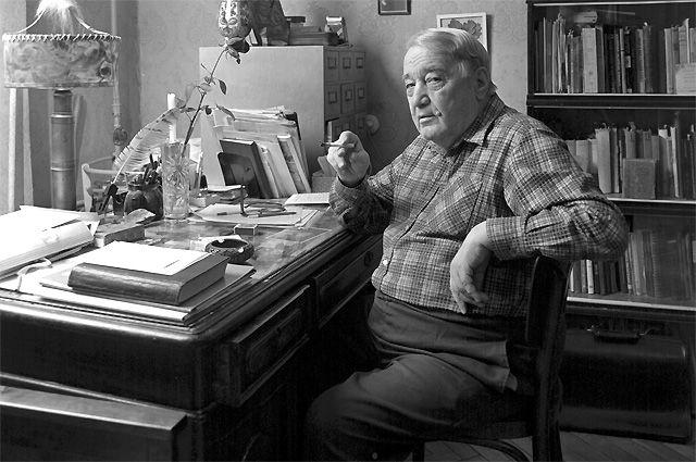 Лев Гумилев. 1989 год.