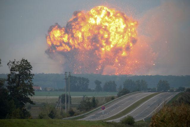 Пожар в Калиновке.