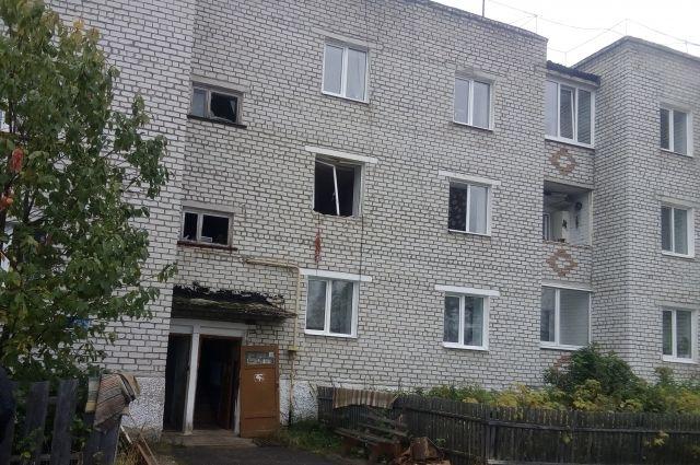 Эвакуированный из дома жильцы вернулись в квартиры.
