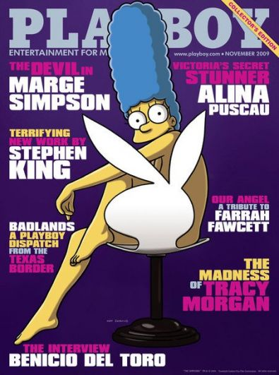 Звездная мама Мардж Симпсон