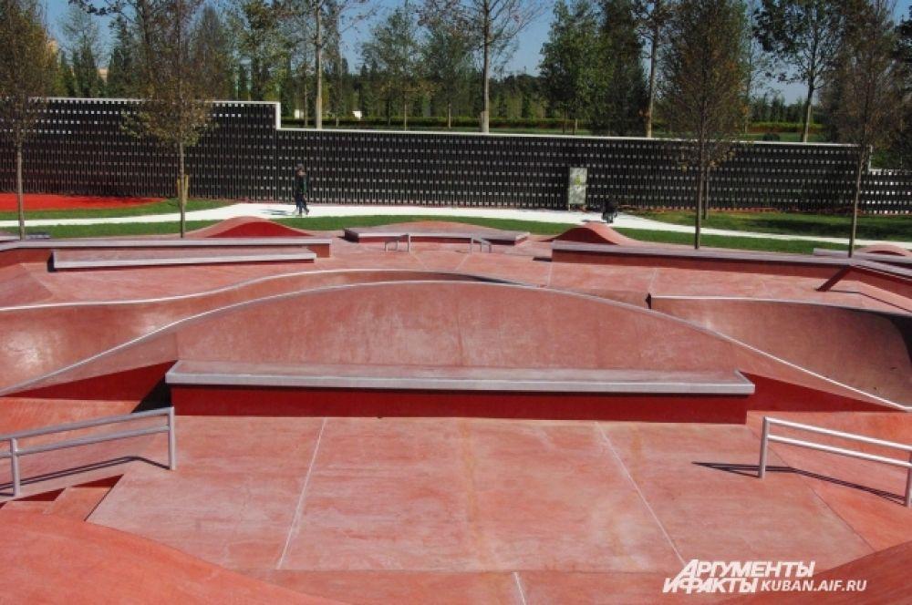 Скейт-парк.