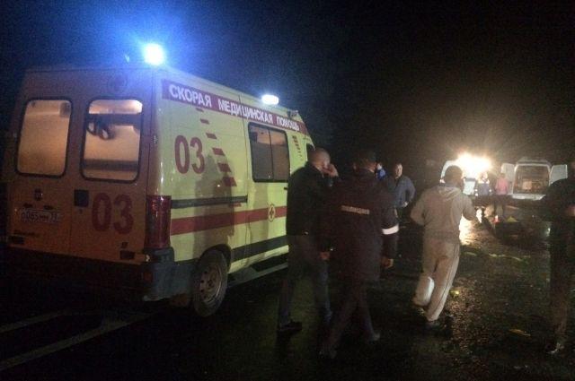 Полиция ищет свидетелей ДТП с 7 погибшими под Гвардейском.