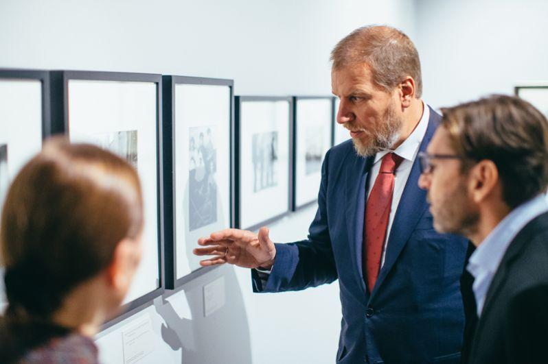 Алексей Ананьев, основатель ИРРИ, меценат: «Я надеюсь, что у всех, кто посетит эту выставку сложится более полное впечатление и о событиях, произошедших сто лет назад, и о том насколько гениально, искренне доносит до нас это Александр Лабас».