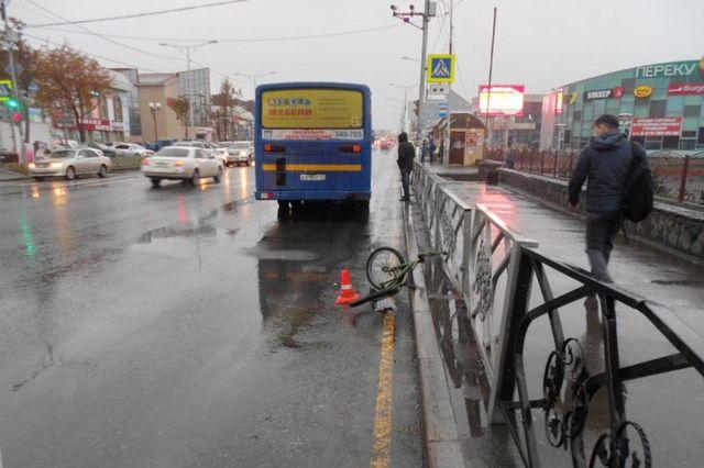 Встолице Камчатки ребенок влетел под колеса автобуса