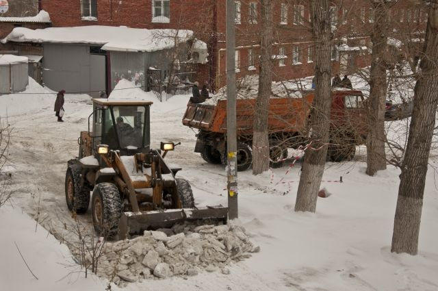 Снег изОмска будут вывозить абсолютно по-новому