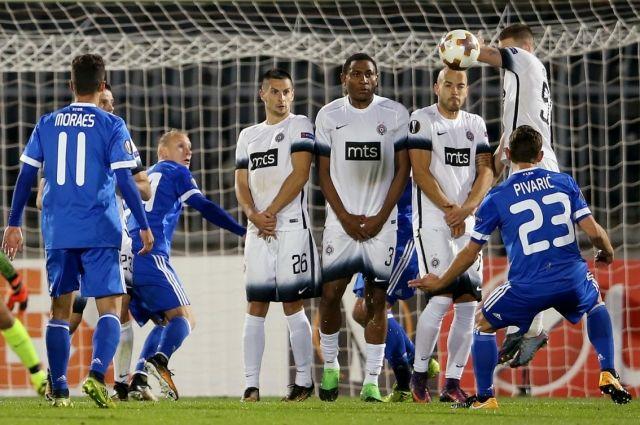 Динамо на выезде в матче-триллере одолело Партизан