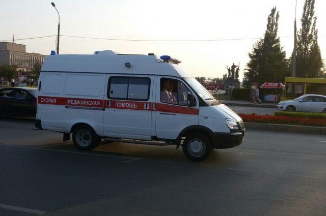 ВПетербурге вДТП пострадали двое детей