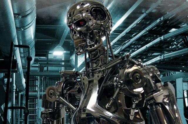 В фильме «Терминатор» вышедшие из повиновения машины развязывают войну с человечеством, и всё заканчивается ядерным взрывом.