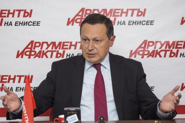 Глава Красноярска ответил на вопросы журналистов в редакции газеты «АиФ на Енисее».
