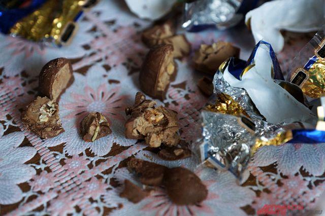 В шоколаде можно найти совершенно неожиданную начинку.