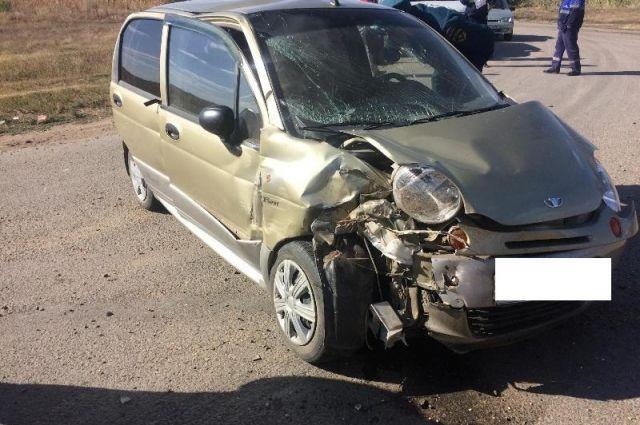 НаСтаврополье встолкновении Matiz и«КамАЗа» пострадали 4 человека