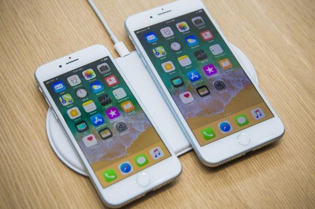 Новый iPhone 8 взорвался во время подзарадяки