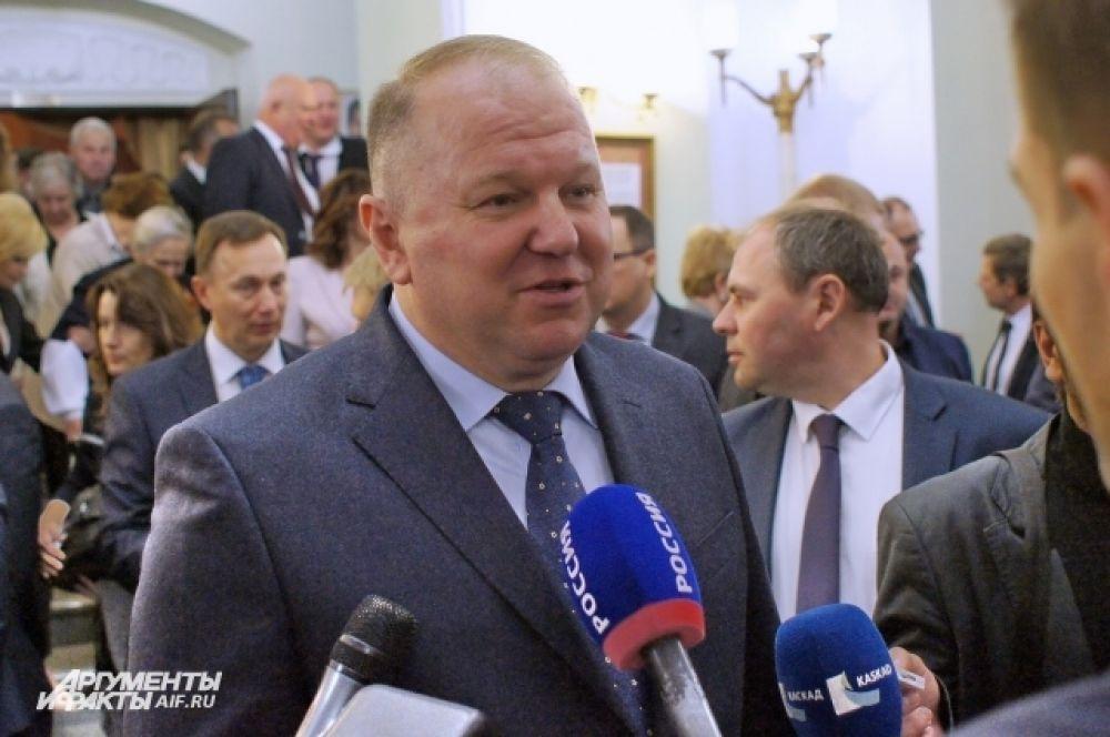 Экс-глава Калининградской области Николай Цуканов.
