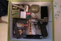 Изъятое в Свердловской области оружие