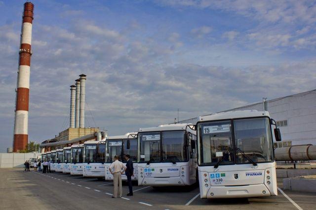ВЧелябинск поступили новые автобусы марки «Камаз»